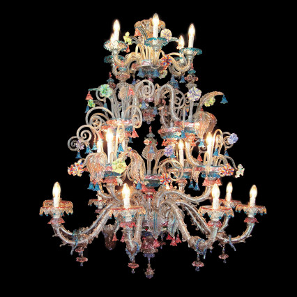 Art. 510 Chandeliers Collection Rezzonico 18 Lights