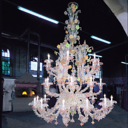Art. 600 Chandeliers Collection Rezzonico 28 Lights