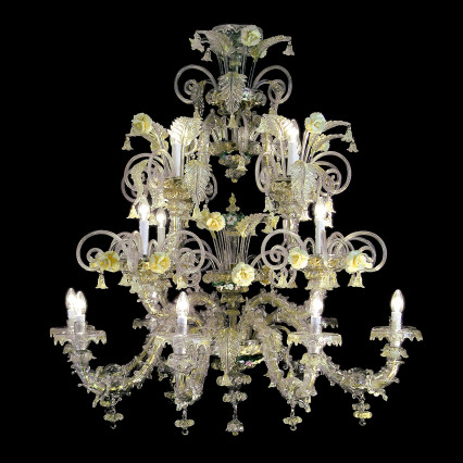 Art. 501 Chandeliers Collection Rezzonico 8+4+4 Lights