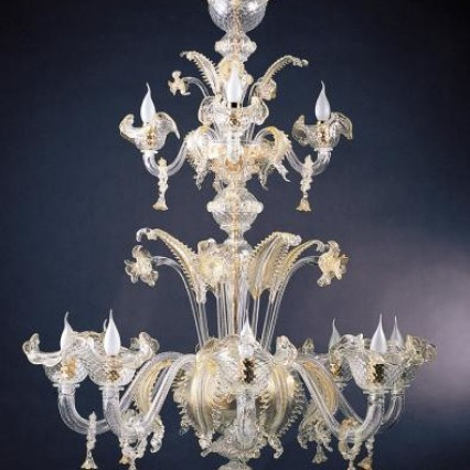 ART. 667 Classic Venetian Chandeliers 12 Lights