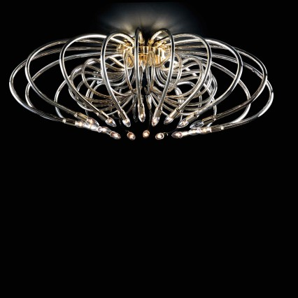 Ceiling lamp FLY mirrorered