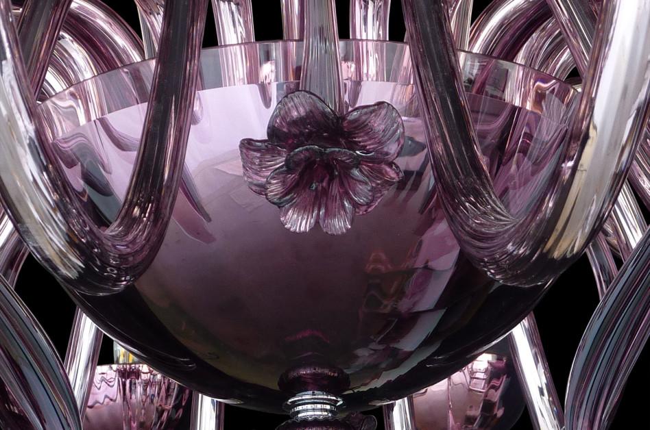 Plafoniera Fiori Vetro : Lampadari vetro murano. illuminazione plafoniere applique lucevetro