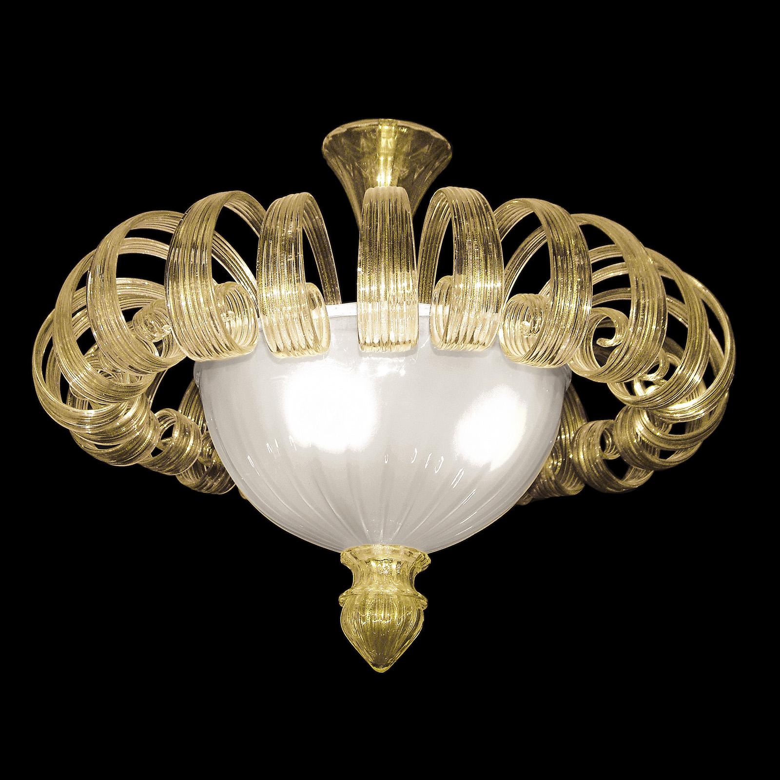 Plafoniere in vetro di murano stile classico lucevetro for Graniglia di vetro